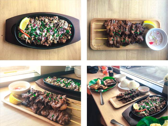 Cusina ni Nanay Kariya City restaurant foods