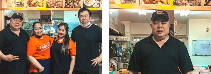 Daongan Nagoya Grocery Store and Kitchen staff, Shinsakae Nagoya City