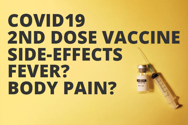 covid19 2nd dose vaccine side effects on body